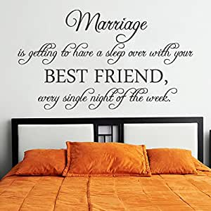 Love Wall Decal Romantic Wall Quote Vinyl Love Saying Lettering Master Bedroom Wall Sticker
