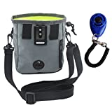Z-joyee Dog Treat Training Pouch with Waist & Shou...