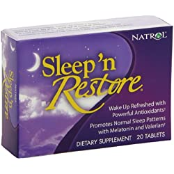 Natrol Sleep N Restore Tablets, 20 Count