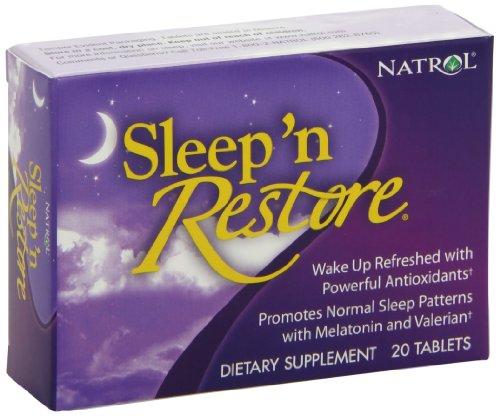 Natrol Sleep Restore Tablets 20 Count