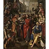 The Perfect effect Canvas of oil painting 'Maerten de Vos - Altarpiece of the Guild of the Minters, 1602' ,size: 20x23 inch / 51x59 cm ,this High quality Art Decorative Canvas Prints is fit for Kitchen artwork and Home decoration and Gifts