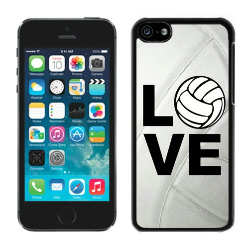 Iphone 5s Case, Colorful Patern Back Cover ,Fashion Print Back Skin Shell Case [Scratch-resistant] [Perfect Fit] [Anti-slip] [Good Grip] Back Cover for Iphone 5s (Forever & Love) (Volleyball) - Iphone5s Volleyball Cases
