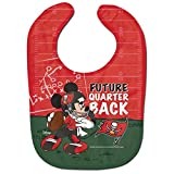 "Tampa Bay Buccaneers Mickey Mouse Disney""Future Quarterback"" Bib"