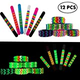 Best Bracelets 2 Piece For Boys - Frogsac Spikeez 12 Pieces Glow in the Dark Review