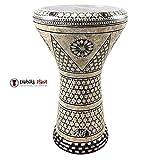 Gawharet El Fan 17'' Mother of Pearl Darbuka ''Nemes'' Darbuka Drum Percussion