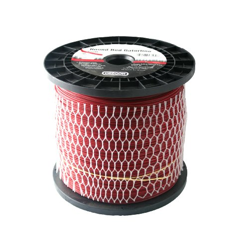 Oregon 23-195 Professional Red Gatorline Round String Trimmer Line .095-Inch Diameter 3-Pound Spool