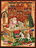 Santa's Workshop German Christmas Advent Calendar