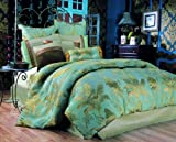Kathy Ireland Whispering Palm 9-Piece Bedding Set (Queen)