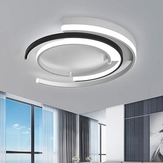 WSYYWD Lámpara de techo LED moderna para sala de estar ...