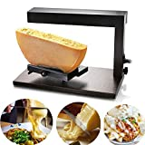 Li Bai Commercial Raclette Cheese Melter Nacho Machine Electric For Half Cheese Wheel Multi-Function Angle Adjustable Swiss Dish Maker 650W 110V Rapid Heating
