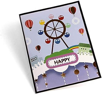 WOZOW Tarjetas Amante Feliz cumpleaños Aniversario Saludo ...