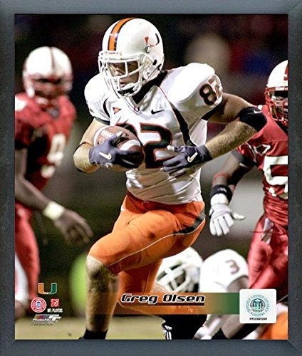 Greg Olsen Miami Hurricanes NCAA Action Photo (Size: 12