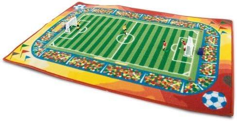 90 x 120 cm Original Spielteppich Fussball Ma/ße ca