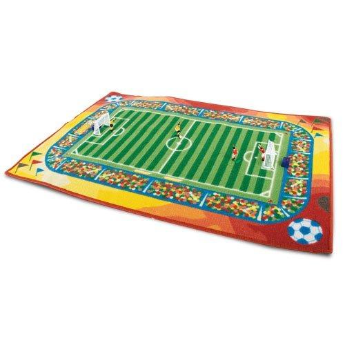 Original Spielteppich Fussball, Maße ca. 92 x 92 cm Maße ca. 92 x 92 cm Spelkleed