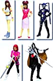 Gashapon HGIF Cutie Honey all five (Eriko Sato version)