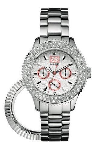 Marc Ecko E15506M1 Midsize Masterpiece Silver Watch - Marc Ecko Unisex Watch