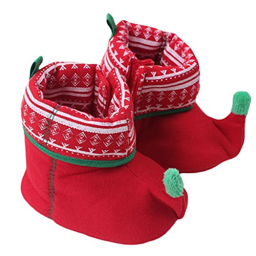 Taiycyxgan Baby Boys Girls Christmas Slipper Shoes Toddler Booties (Childrens Christmas Slippers)