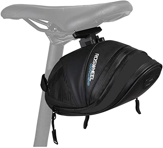 Bicycle Bike Storage Saddle Bag Seat Outdoor Cycling Waterproof Rear New R5E4