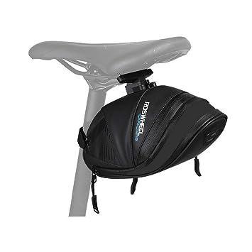 Amazon.com: Roswheel - Bolsa para sillín de bicicleta ...