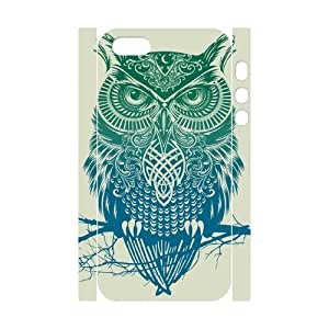 TOSOUL Owl 4 Phone 3D Case For iPhone 5,5S [Pattern-3]