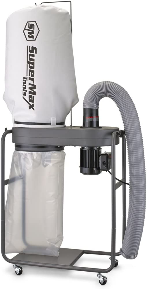 SUPERMAX TOOLS 1 Hp Dust Collector