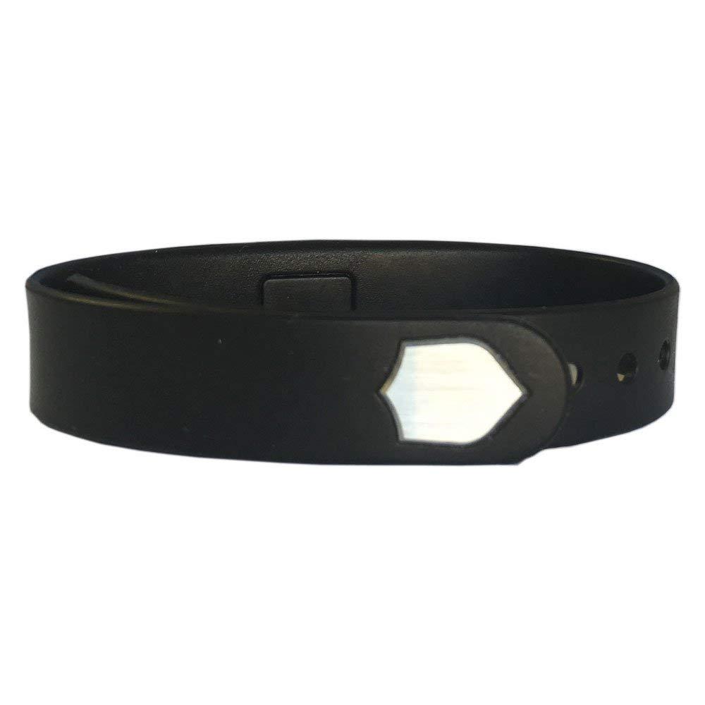 The GunBox RFID Wristband, Black (emblem color may vary)