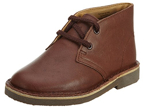 Clarks Desert Boot TD LK Boot (Toddler/Little Kid), Chestnut, 11.5 W US Little Kid (Best Price Clarks Desert Boots)