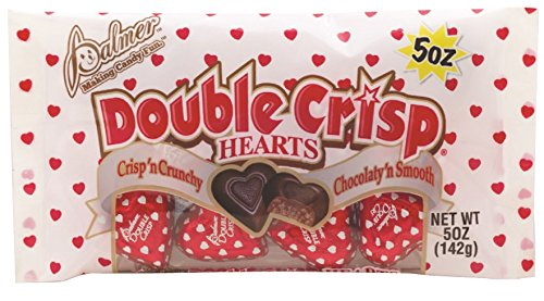 (Palmer Double Crisp Chocolate Hearts)