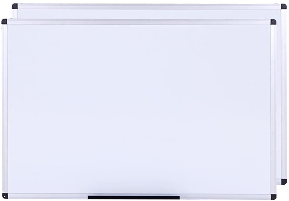 W2400xH1200mm Wall Mounted Board for School Office and Home Non-Magnetic VIZ-PRO Dry Erase Board//Whiteboard