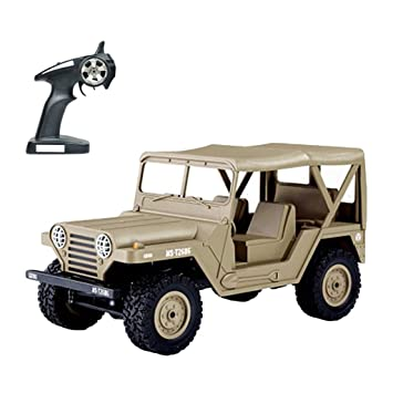 LtrottedJ 1:14 Scale RC Car 4D Off Road Vehicle 2.4G Radio Remote Control