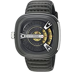 SEVENFRIDAY Men's M2-1 M Series Analog Display Japanese Automatic Black Watch