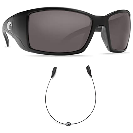 03c04f68f4 Image Unavailable. Image not available for. Color  Costa Del Mar BlackFin  Black - 580G Grey Glass Polarized ...