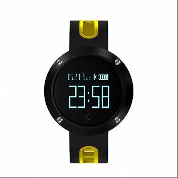 Pulsómetro reloj deportiva Inteligente Podómetro Monitores de actividad Impermeable IP68 Reloj Deportivo con Tensiómetro Monitor de Dormir y sedentario ...