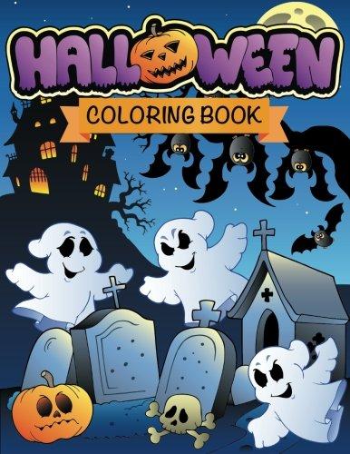 Halloween Coloring Book -