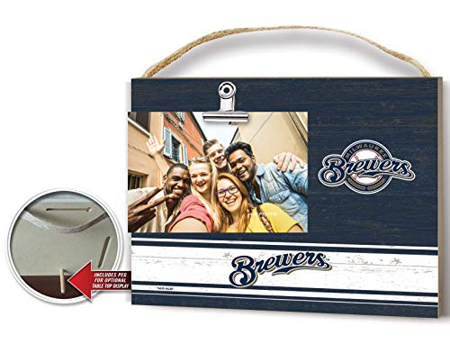 t Colored Logo Photo Frame Milwaukee Brewers ()