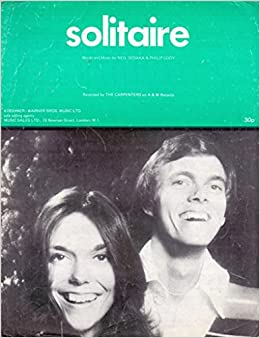 solitare as recorded by the carpenters