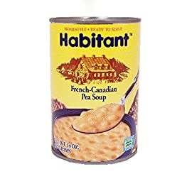 Habitant French Canadian Yellow Pea Soup (Pack of 6) 14 oz Cans