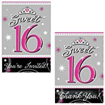 Sparkle Invitations and Thank-You Notes