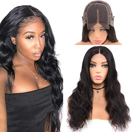 Goldfinch Body Wave Human Hair Lace Front Wig 150% Density Body Wave Lace Front Wig Remy Virgin Human Hair 4x4 Lace Closure Wig Natural Hairline 22 inches