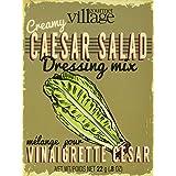 Gourmet du Village Caesar Salad Dressing Seasonings Recipe Box Retro, 22.68g