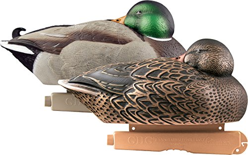Avery Greenhead Gear Pro-Grade Duck Decoy,Mallards/Sleeper Pack,Pair