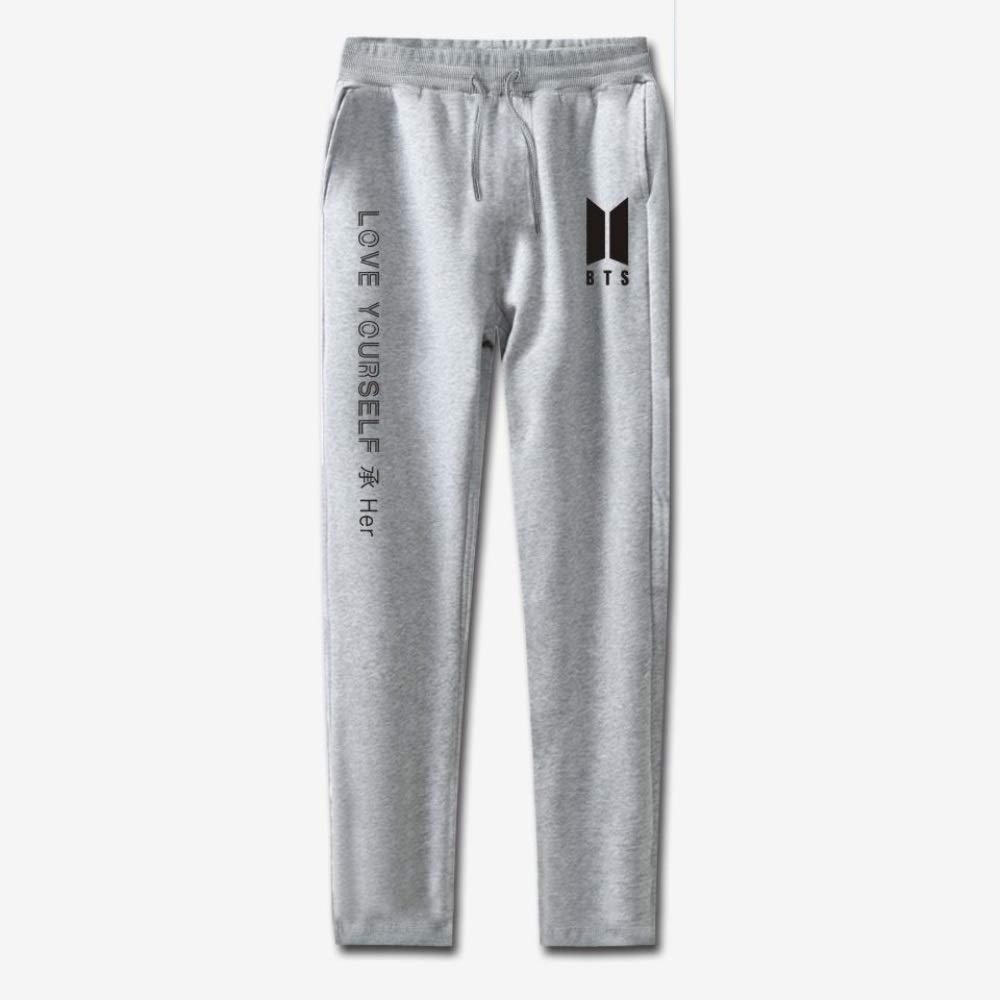INSTO Pantalones Hombre/Mujer Pantalones de Chándal BTS Pantalones ...