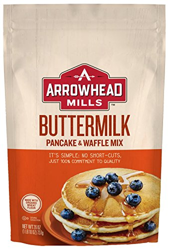 Arrowhead Mills Buttermilk Pancake & Waffle Mix, 26 Ounce (Pack of - Mix Mills Arrowhead Bread