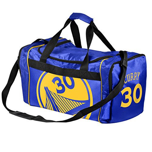 FOCO Golden State Warriors Steph Curry #30 Core Duffel Gym Bag by FOCO