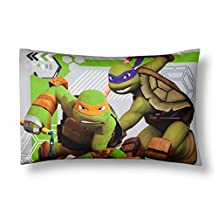 Teenage Mutant Ninja Turtles® Green & Gray Pillowcases (Standard)