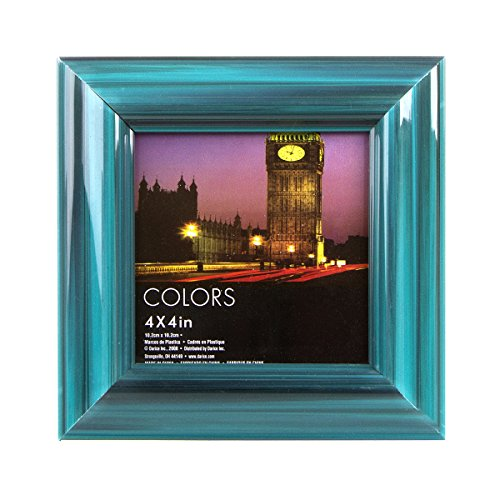 Darice Plastic Picture Frame Teal