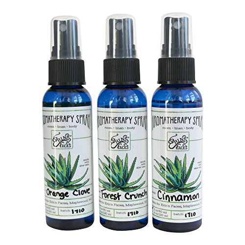 Orange Pomander Essential Oil (Erin's Faces Aromatherapy Spray Trio- Holiday Scents Limited Edition)