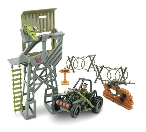 Lanard The Corps Battle Zone Tower with Vehicle ()
