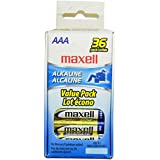 Maxell 723815 Alkaline Battery AAA Cell 36-Pack