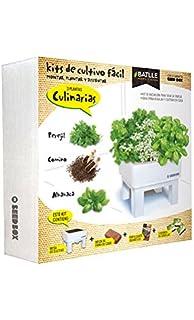 Kit de Cultivo de Hierbas Orgánicas + Molinillo de Hierbas - Kit ...